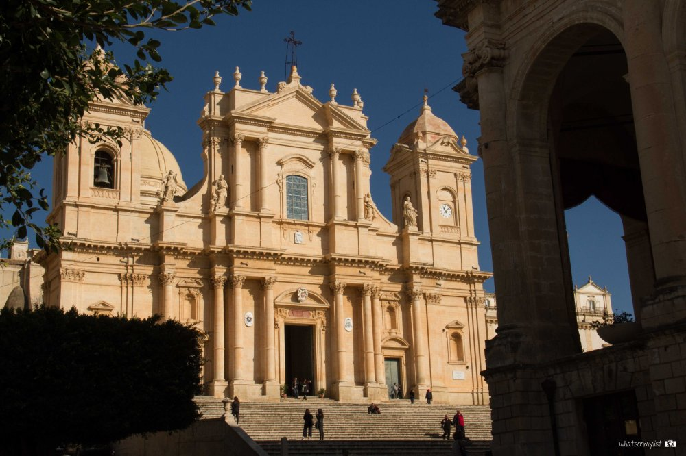 Catedral de Noto whatsonmylist