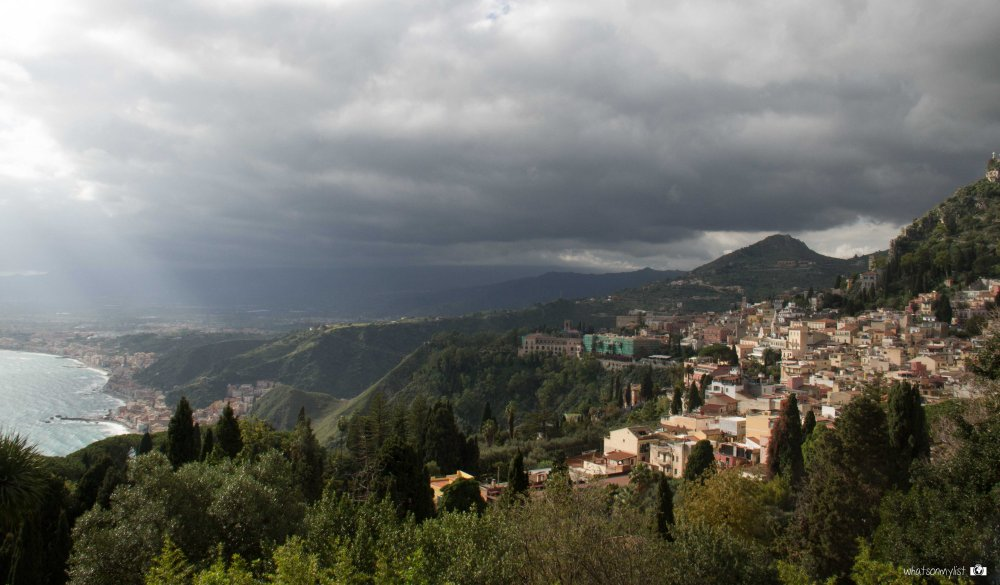 Taormina views whatsonmylist