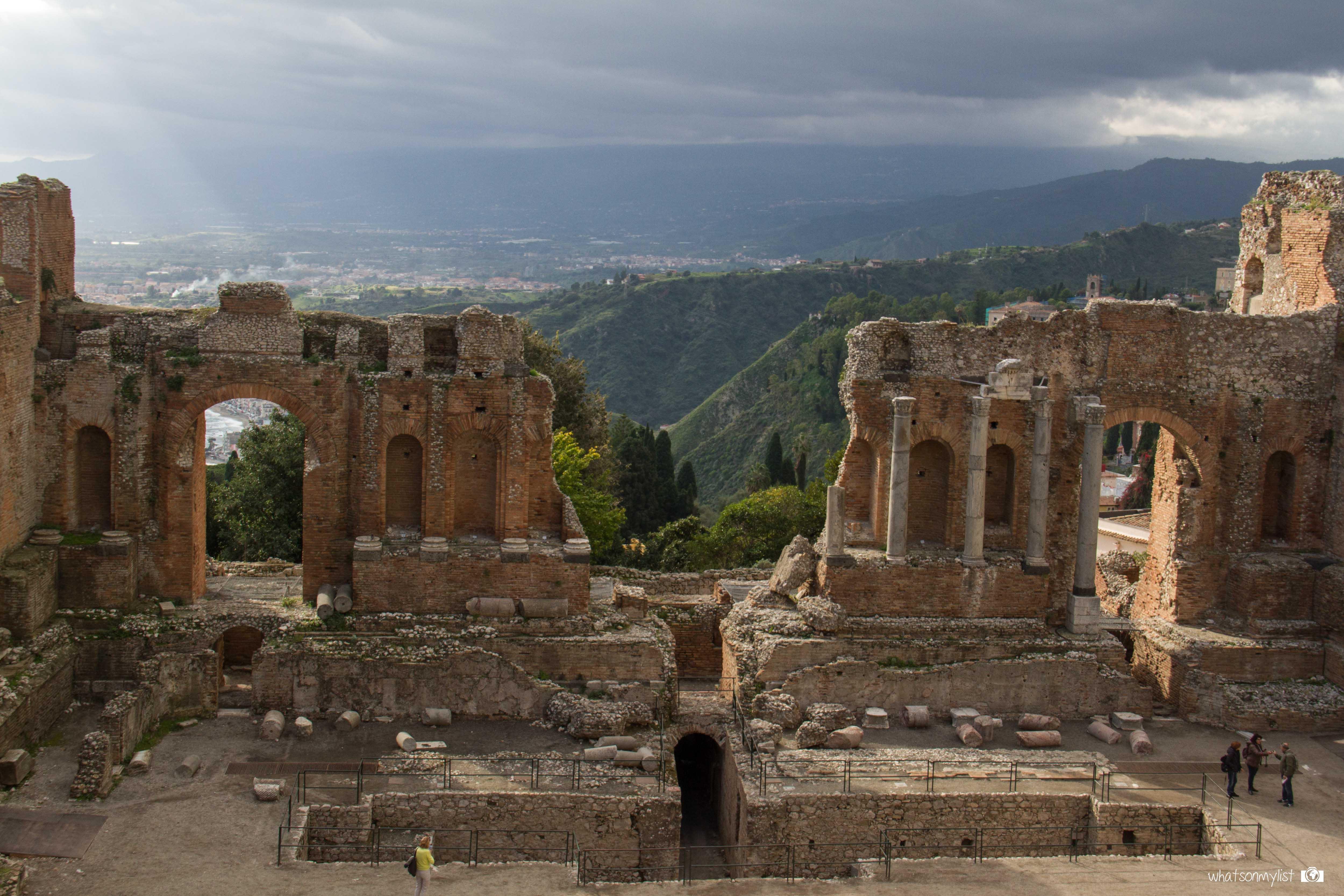 Teatro Griego Taormina